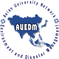 Asian University Network on Environment and Disaster Management (AUEDM) logo